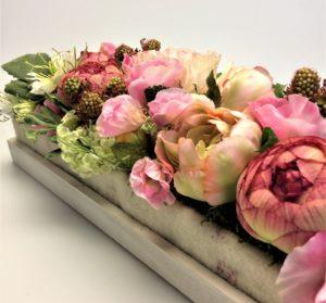 Nice selyemvirág kompozíció