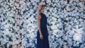 Virágfal, fotózás háttér
