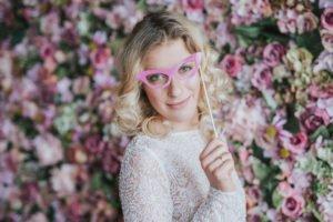 Virágfal fotózásra, virág fotózás